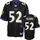Reebok Baltimore Ravens Ray Lewis Replica Alternate Jersey Extra Large