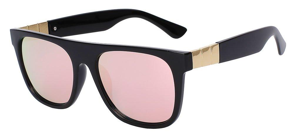 6f40f5c223 TIANLIANG04 Volver Fecha gafas de sol mujer de Anteojos Flat Top gafas de  sol de moda