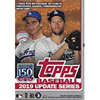 $24 » 2019 Topps Traded and Update Series Baseball Unopened Blaster Box with 99 Cards including…