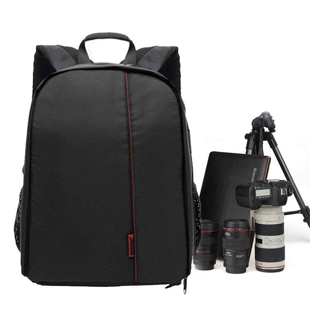 Teepao Zaino Fotografico Compatto Zaino Fotografica Antiurto Multifunzionale di Grande capacit/à con Tasche Laterali Adatto per DSLR Reflex Canon Nikon Pentax Sony Arancione