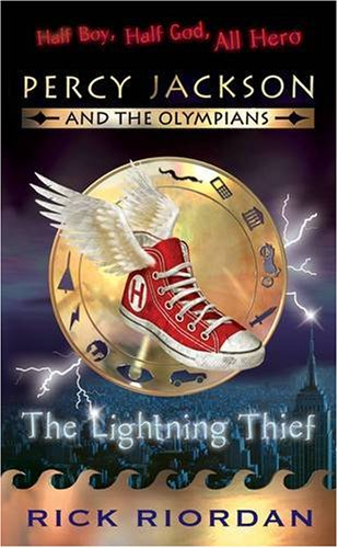 the lightning thief percy jackson and the olympians book 1 book