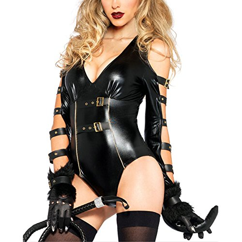 [Lifeisbest Halloween Woman's Sexy Black Cat With Costumes] (Sexiest Couple Halloween Costumes)