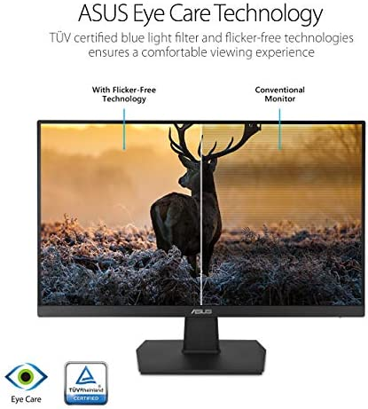 Asus VA27EHE Eye Care Monitor Full HD,Black,27″ Frameless 51Uh3UaikPL