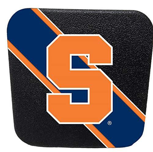 (Racing Reflections Syracuse Orange Rigid Rubber Plastic Hitch Cover Plug Bumper Trailer Auto University of)