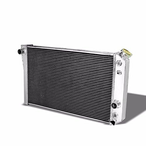 TRI Core High Capacity Race Aluminum Radiator Kit For Chevrolet 82-02 S10/S-10 Blazer V8 Conversion/ 84-90 Corvette Manual Transmission (Race S10)