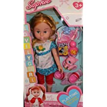 Sophie Doll lovely girl with kitty and accesories included!
