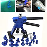 FidgetFidget Paintless Auto Body Dent Lifter Puller Hail Removal Repair Tool+18pcs Glue Tabs