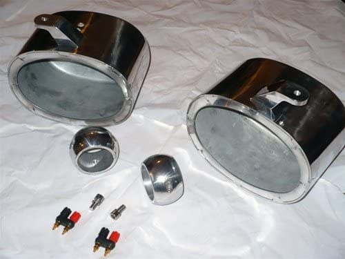 """Krypt 8/"""" Wakeboard Tower Speaker Cans,Pods Clamps,Wet Sounds XS-808//SW808//Revo-8"""