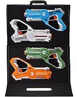Legacy Toys Laser Tag Set for Kids Multiplayer 4 Pack