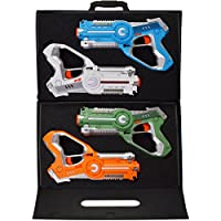 DYNASTY TOYS Laser Tag Set Toys and Carrying Case for...