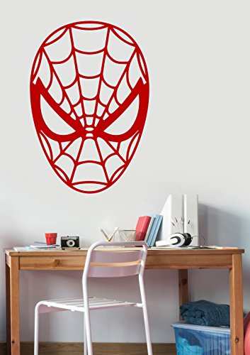 Spiderman Decal Removable Vinyl Sticker Marvel Superhero Wall Art Decorations for Home Kids Boys Room Bedroom Playroom Decor spm1