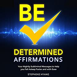 Be Determined Affirmations