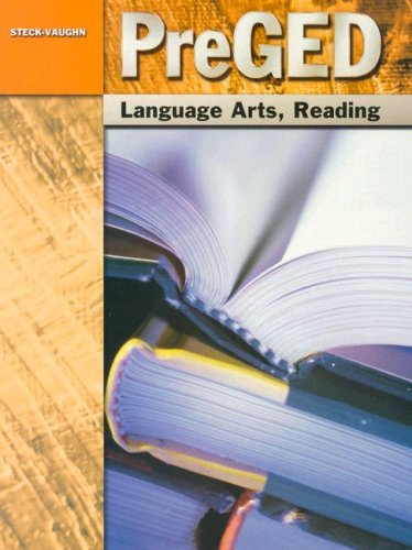 Pre-GED: Student Edition Language Arts, Reading