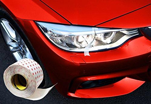 Finest Folia Ruban d/écoratif brillant pour voiture bateau Finest Folia bandes d/écoratives lat/érales adh/ésives moto chrom/é mod/élisme argent/é