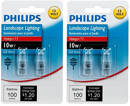 Philips 10 Watt Bi Pin Halogen Landscape Light Bulb