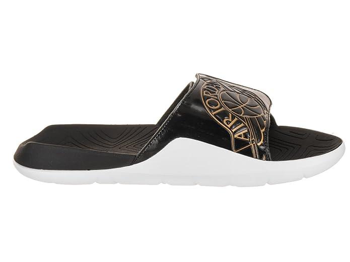 size 40 0d643 79ba2 Amazon.com   Jordan Hydro 7 Men s Slide Sandals AA2517-021 Size 10   Sandals