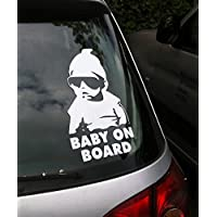TOTOMO #ALI-001 Baby on Board Sticker Decal Safety Caution Sign for Car Windo...