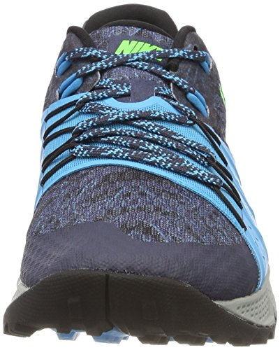 Scarpe Air Trail Zoom Blue 401 black Green Uomo Rage Multicolore 4 Gray light Wildhorse da Running Nike Thunder Blue dIgYqwg