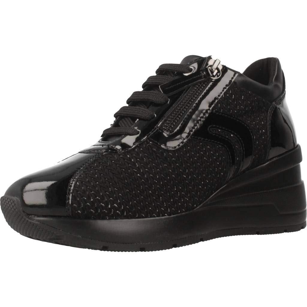 TALLA 37 EU. Geox D Zosma A, Zapatillas para Mujer