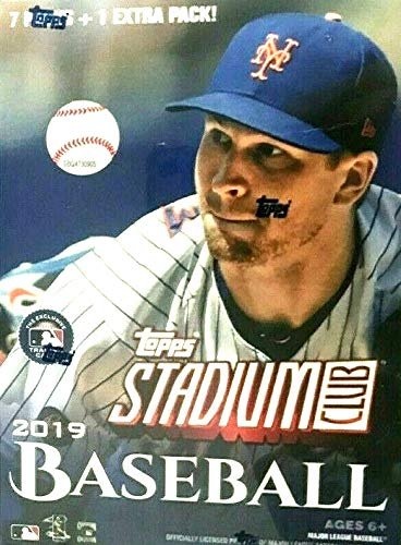 (2019 Topps Stadium Club MLB Baseball BLASTER box (8 pks/bx))