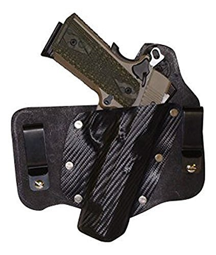Leather Diamondback (Gold Star In The Waistband Holster For Full, Compact and Pocket Pistol for Diamondback DB380)