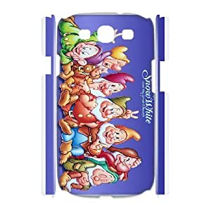 Cartoon Snow White and Seven Dwarfs for Samsung Galaxy S3 I9300 Phone Case Cover 66TY454036