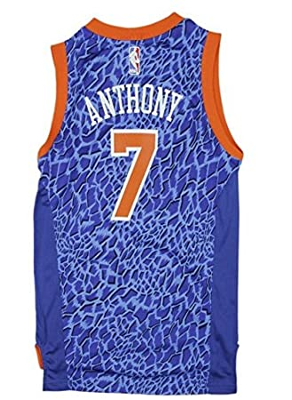 Amazon.com   adidas York Knicks NBA Big Boys Youth Carmelo Anthony  7 Crazy  Light Swingman Jersey abc61f9f8