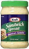 Kraft, Sandwich Spread, 15oz Plastic Jars