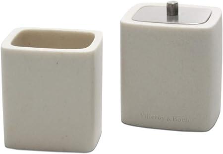 Villeroy & Boch 2 Deko -Dosen Set für Badezimmer Kosmetik Accessories  Bathroom