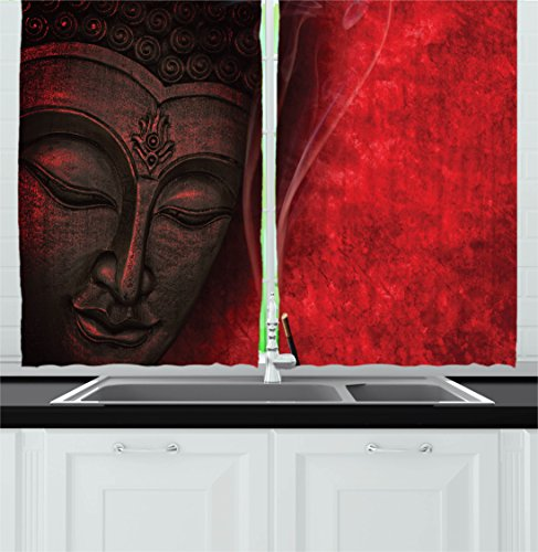 Curtains Ambesonne Spirituality Religious Calmness