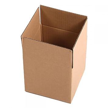 Cartón Cajas de papel de embalaje envío cartón ondulado caja nueva: Amazon.es: Hogar