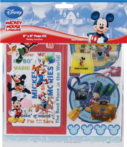 Disney Journaling Cards (Disney Vacation 8-by-8 Page Kit)