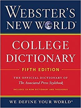 Book Webster's New World College Dictionary, Fifth Edition