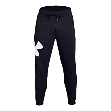 0d1a9d6d1047 Image not available for. Color  Under Armour UA Rival Fleece Fitted Joggers  SM Black