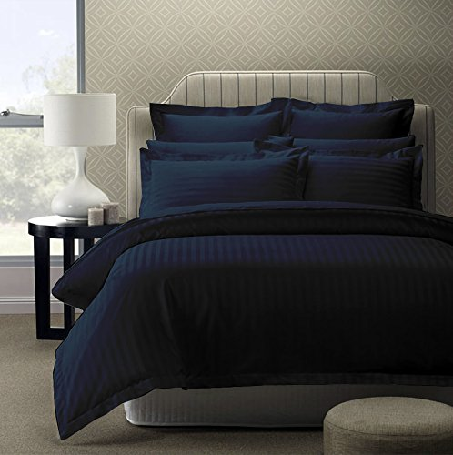 Story@Home 300 TC 100% Cotton Sateen Double King Size Bedsheet with 2 Pillow Covers Plain Premium P