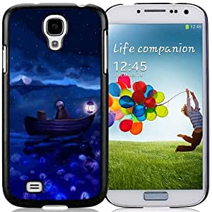 New Beautiful Custom Designed Cover Case For Samsung Galaxy S4 I9500 i337 M919 i545 r970 l720 With Stars Phone Case