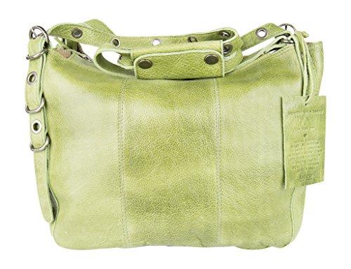 Latico Renwick Shoulder Bag, Grass, One Size (Grass Purse)