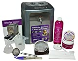 GEMORO 0377 ULTRASPA DUAL ULTRASONIC AND STEAMER JEWELRY CLEANER with Sparkle Bright Cleaning Kit