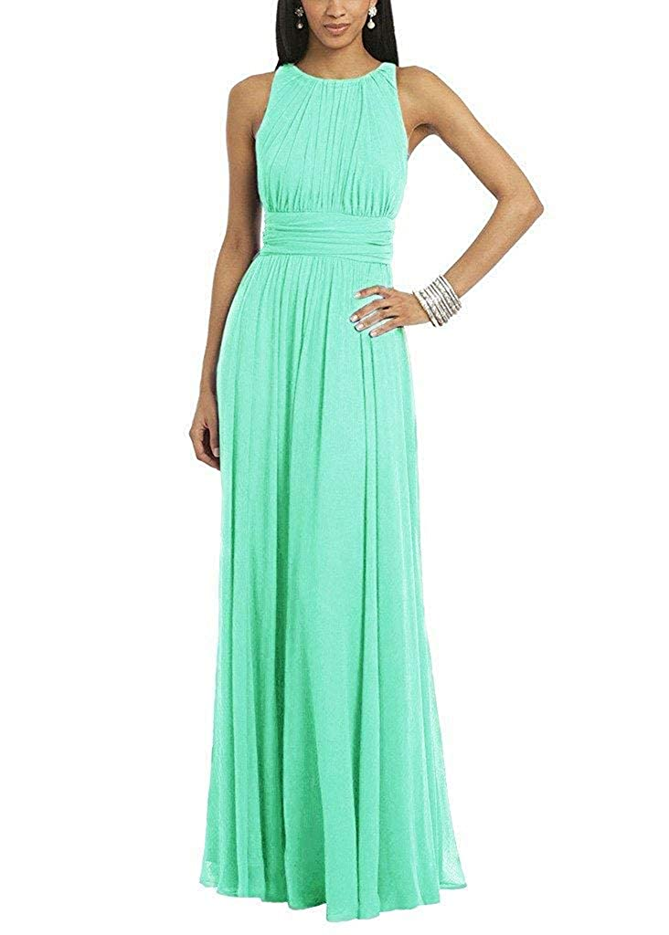 Aqua ASBridal Evening Dress Mermaid Prom Party Dress with Crystals Beading Long Satin Formal Evening Gown Backless