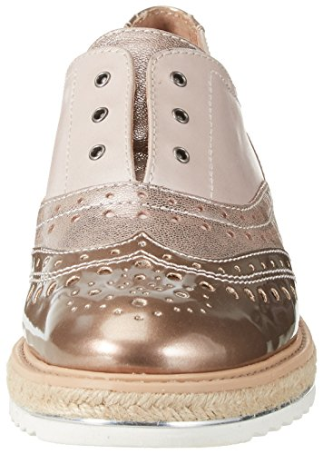 Be Natural 24703, Mocasines para Mujer Rosa (Rose 521)