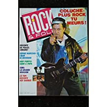 ROCK & FOLK 226 COLUCHE Sophie MARCEAU Deep Purple CURE ZZ Top
