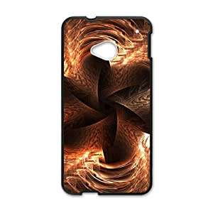 Artistic aesthetic fractal fashion phone case for HTC One M7 BY RANDLE FRICK by heywan