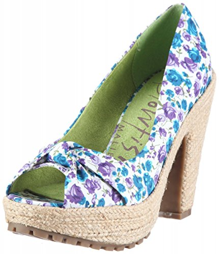 Blowfish Plateaupumps Susi Vanamo Purple Flower Tex YrYfpg