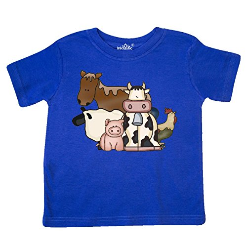inktastic - Critters Toddler T-Shirt 4T Royal Blue 4006 from inktastic