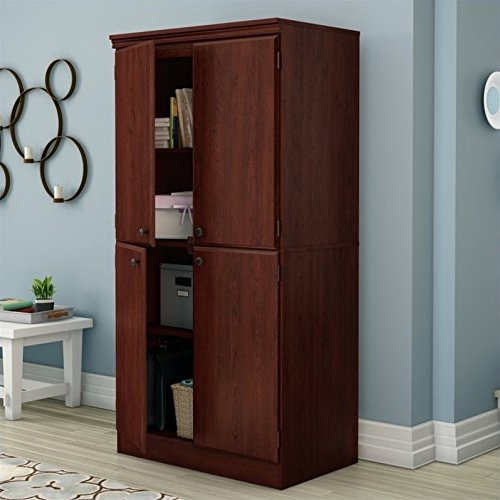 South Shore Morgan Collection Storage Cabinet, Royal Cherry