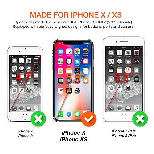 the latest d7d3a 021cb Trianium Atomic Pro 3000mAh Battery Case Compatible Apple iPhone Xs/iPhone  X (5.8
