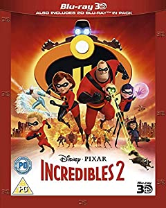 Incredibles 2 [3D Blu-ray + Blu-ray]