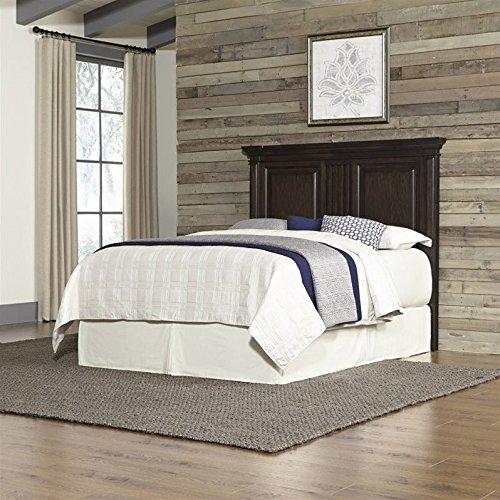 Home Styles 5029-601 Prairie Home Headboard, King/California King, Black Oak Finish (Bookcase King California)