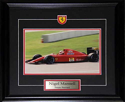 Midway Memorabilia Nigel Mansell Team Ferrari 8x10 for sale  Delivered anywhere in USA