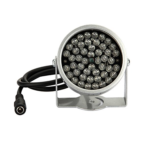 Triangle-Box - 2pcs 48 LED Illuminator Light CCTV IR Infrared Night Vision Lamp For Camera ping by Triangle-Box